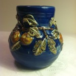 Cobalt Arts and Craft Vase