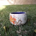 Orange Flower Bowl
